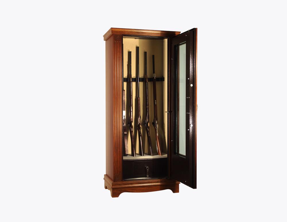 PFRLCV T Linea Wood con vetro | Armadi Portafucili | Sicura ...