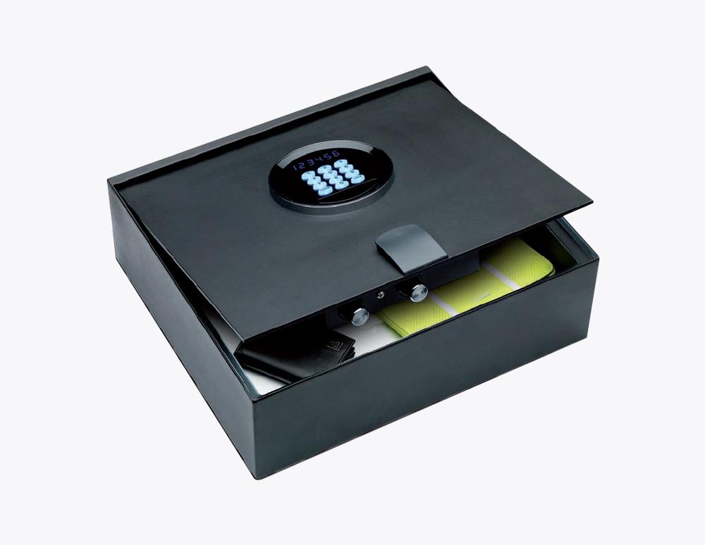 cassetto-portapistole-Serratura-sicurezza-combinazione-elettronica-Sicura-Casseforti